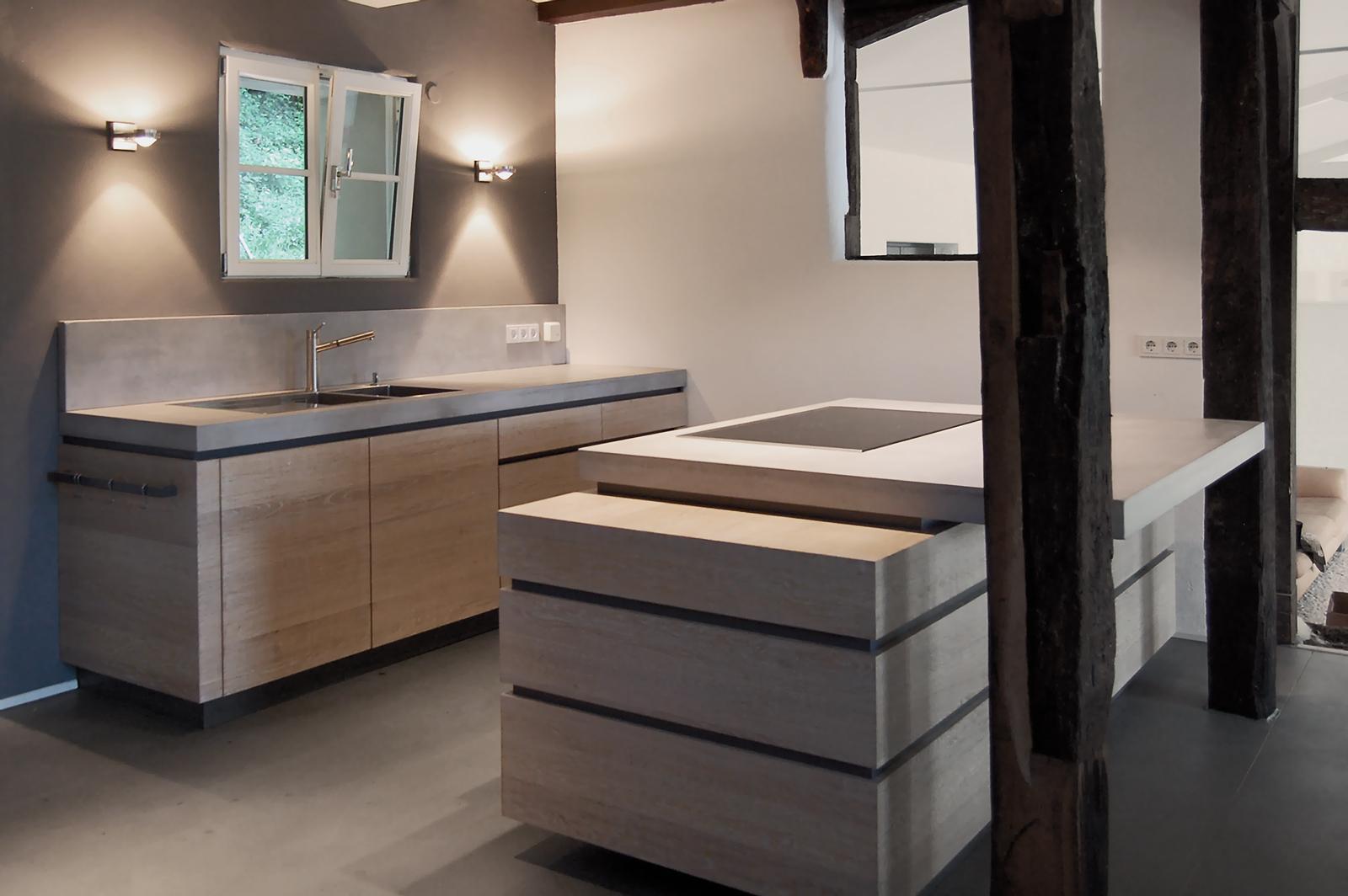 Küchendesign für private Einbauküche