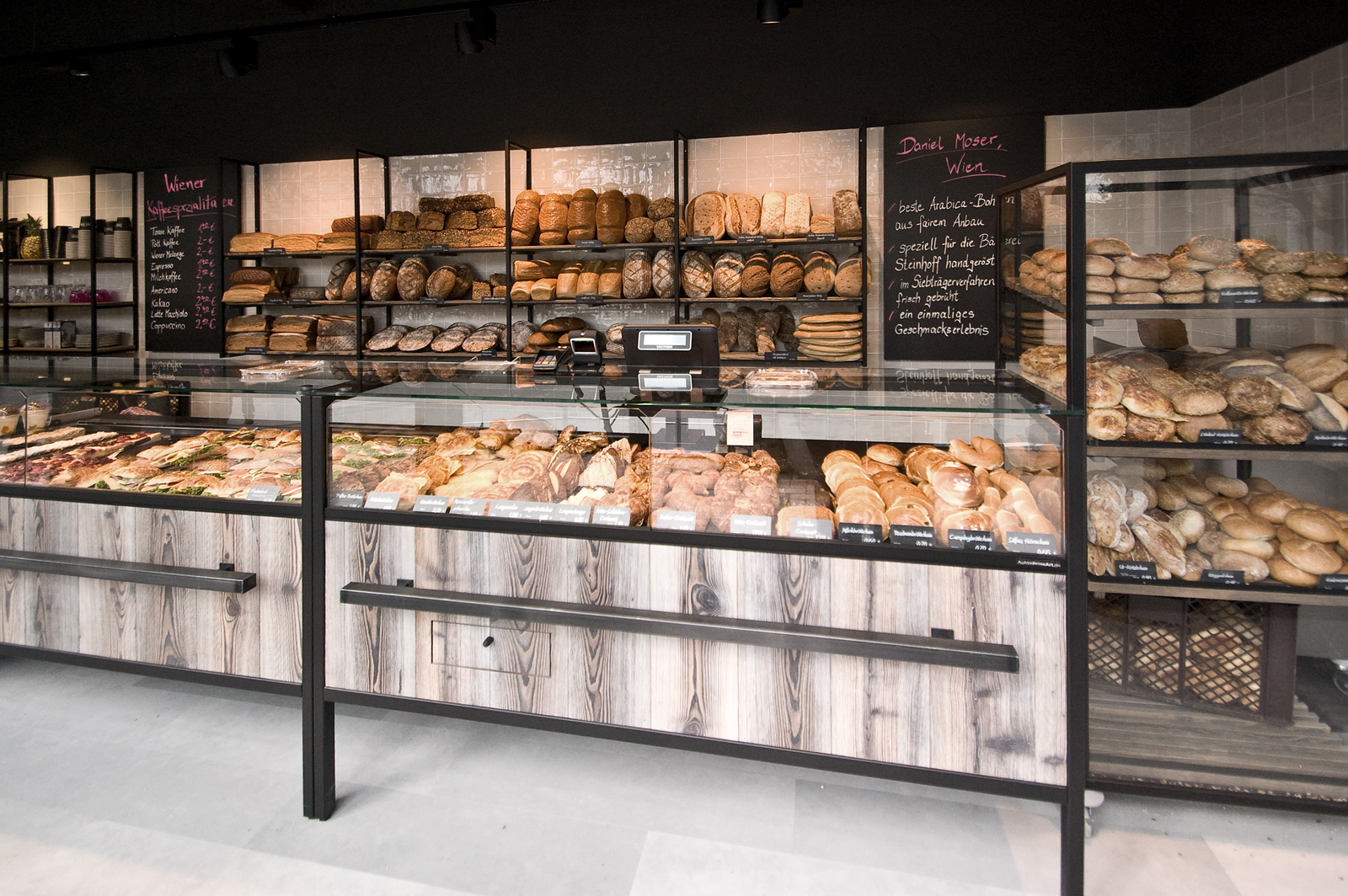 Ladeneinrichtung für Bäckerei-Konditorei Steinhoff von HBplus